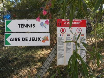Tennis Aire de jeux